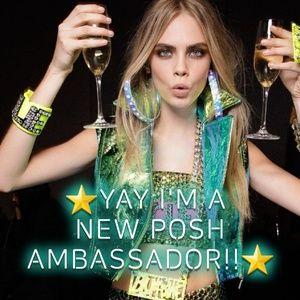 YAAASSS POSH FAM!!!! Thank you!!💚💙💚💙